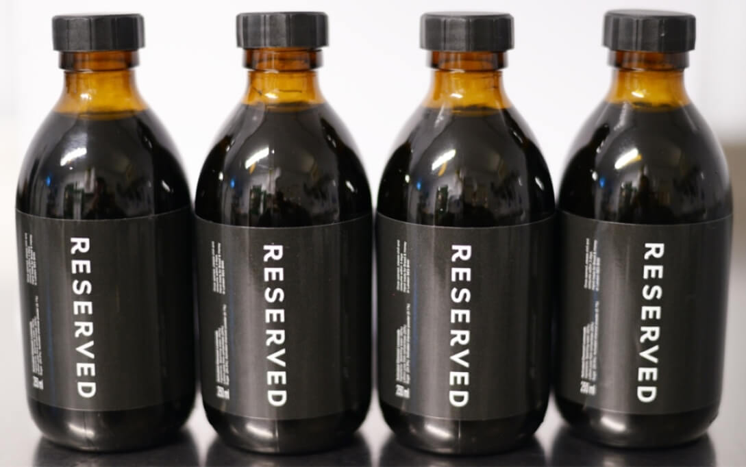 Reserved drinks_line up